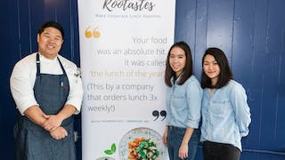 Class Project Turned Business: Rootastes Is Changing How Offices Eat